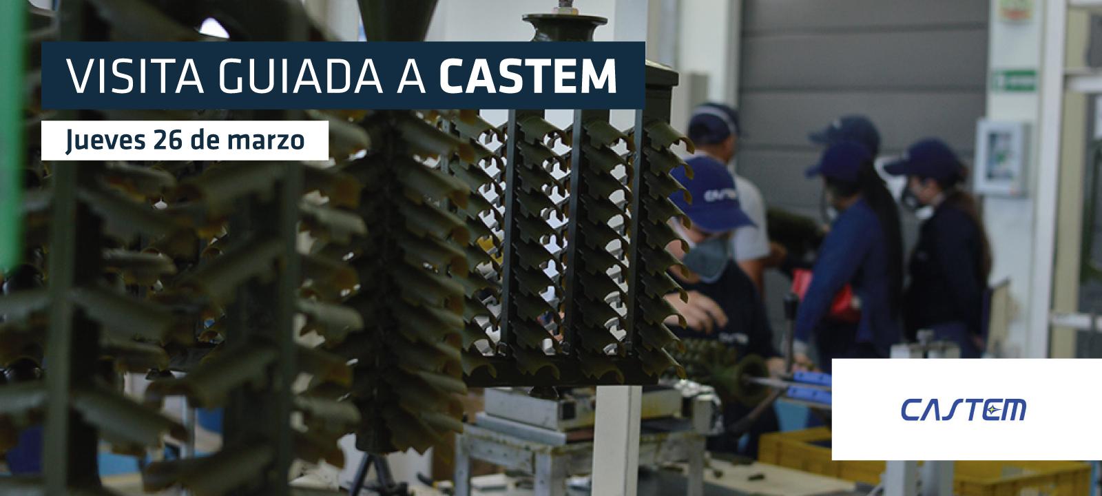 Ingeniería Mecánica visita las instalaciones de CASTEM