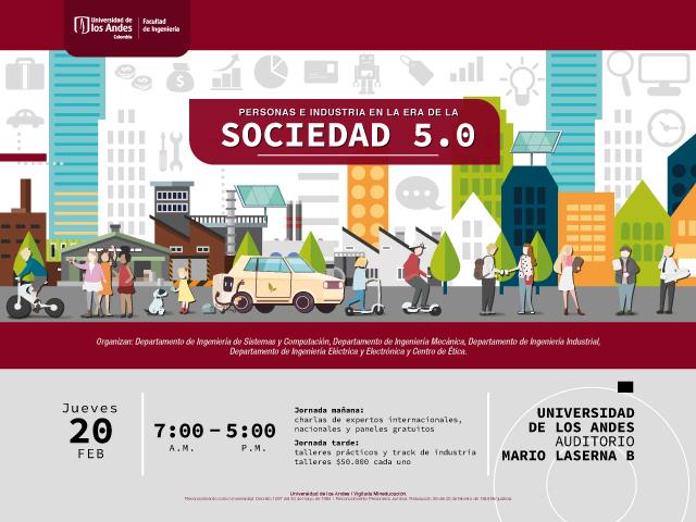 Participa del foro: personas e industria en la era de la sociedad 5.0