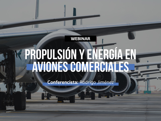 Conoce sobre la propulsión y energía en aviones comerciales