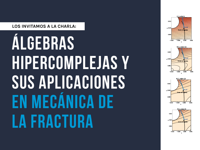 Los invitamos a la charla sobre: Álgebras hipercomplejas y sus aplicaciones en mecánica de la fractura | Uniandes