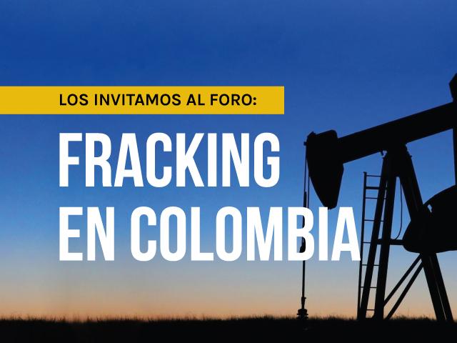 Foro sobre el fracking en Colombia organizado por el Departamento de Ingeniería Mecánica de la Universidad de los Andes