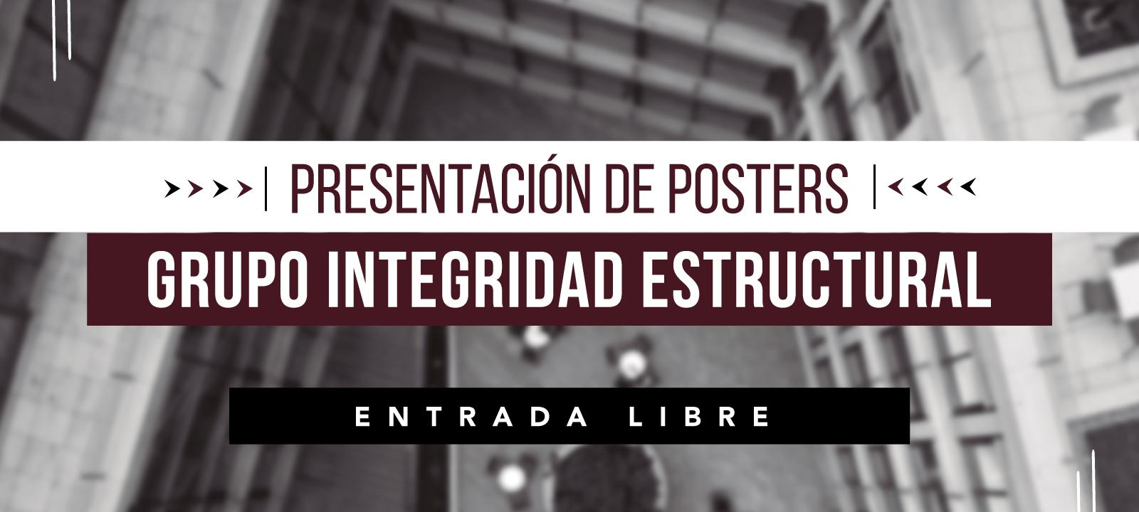 Evento Presentación de Posters - Grupo Integridad Estructural