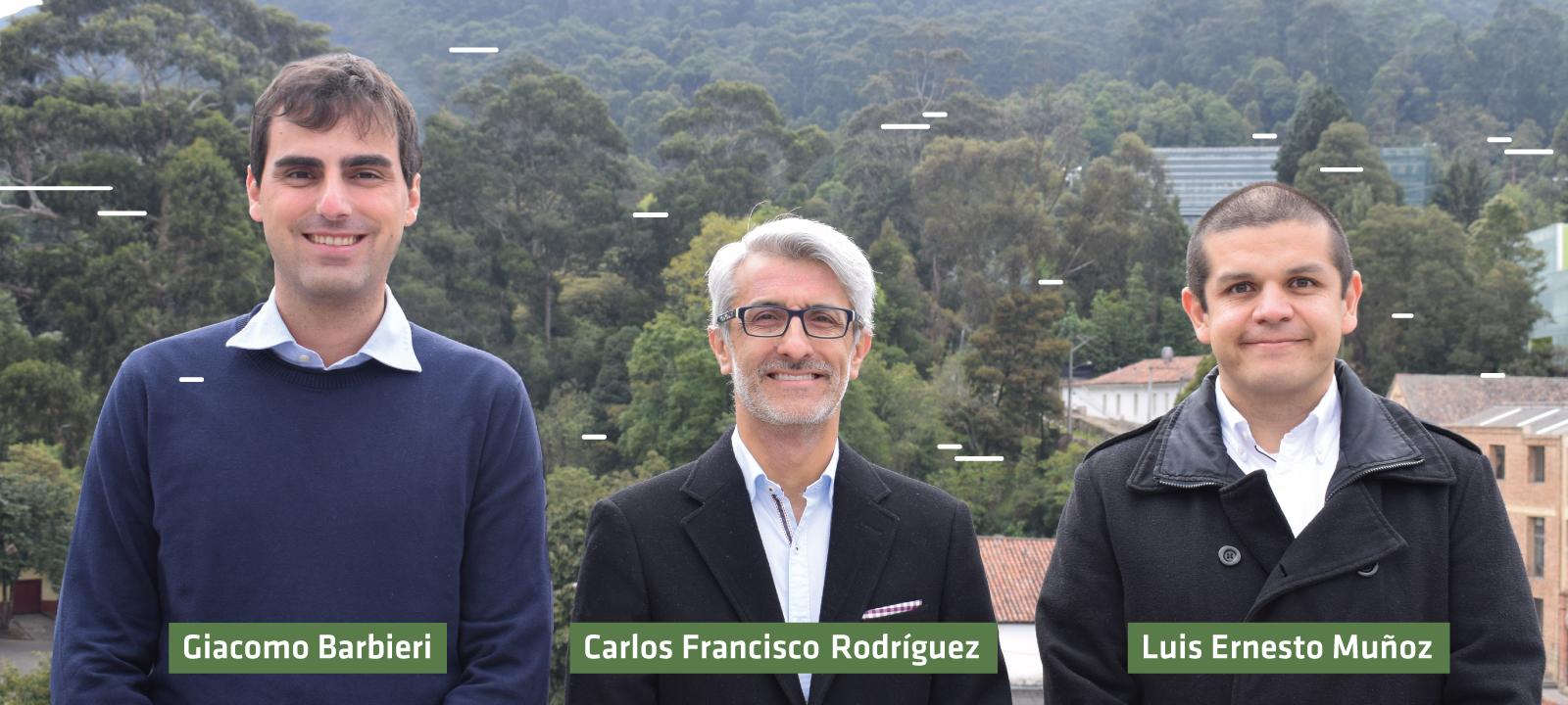 Profesores grupo de investigación Dinámica de Maquinaria de la Universidad de los Andes | Uniandes
