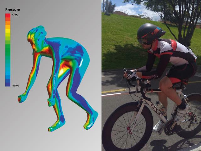 Evaluación de desempaño en ruta para diferentes posturas del ciclista y sus equipamiento | Uniandes