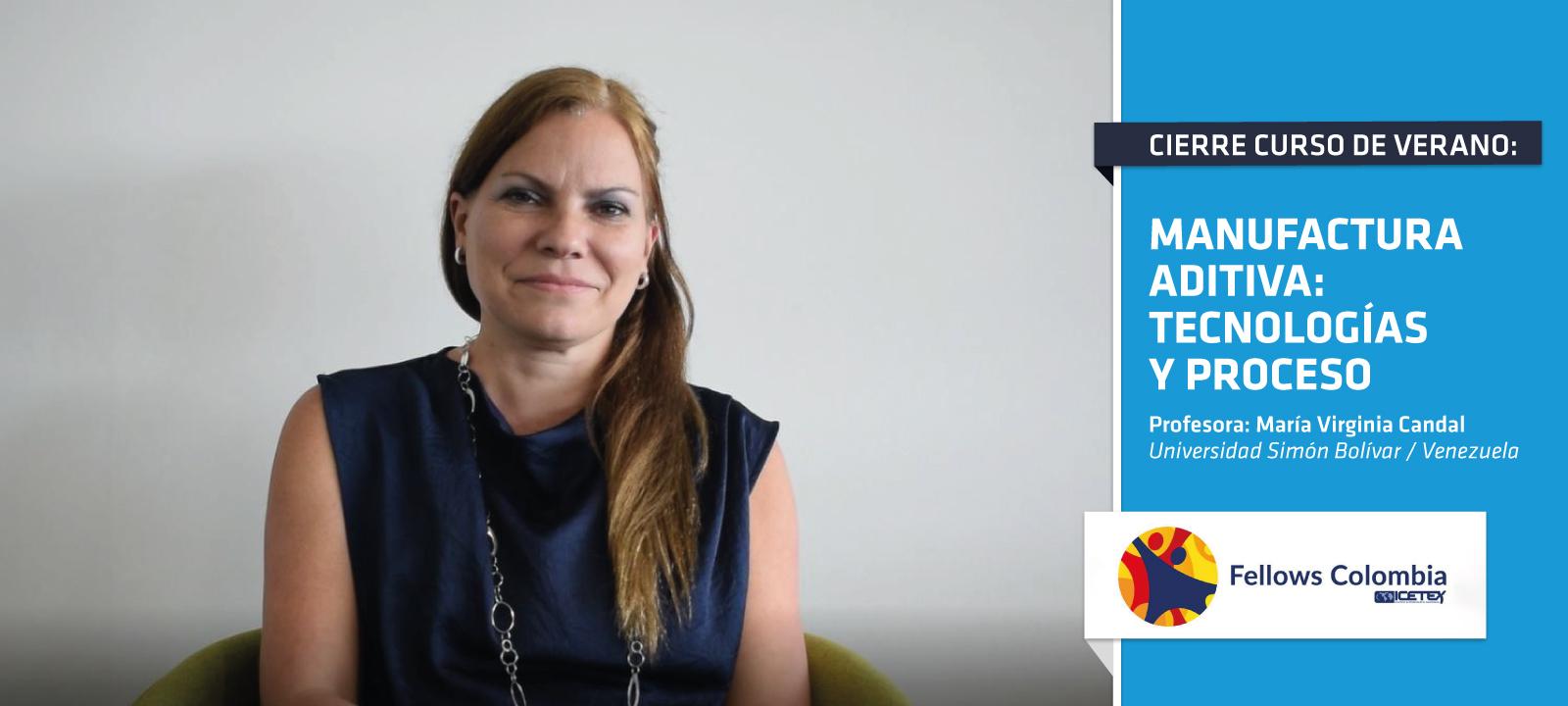 María Virginia Candal fue una de las profesoras invitadas a la Escuela Internacional de Verano 2019 | Uniandes