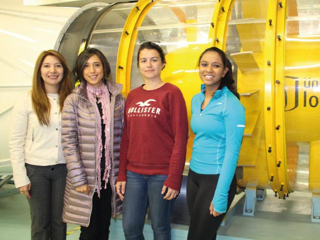 Historia de tres mujeres que escogieron la Ingeniería Mecánica como su camino de vida