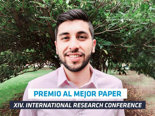 Nicolás Hernandez fue galardonado en el IRC 2020