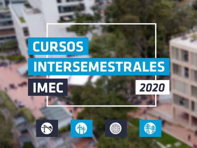 Oferta intersemestral de cursos IMEC 2020