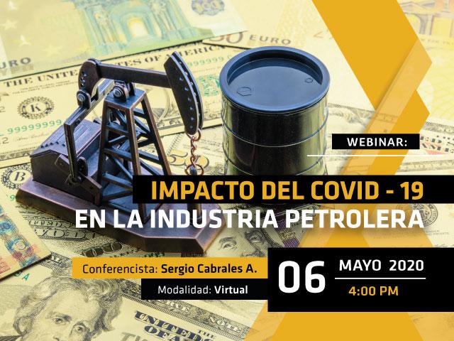 Conozca sobre las consecuencias que ha traído el COVID-19 a la industria del petróleos
