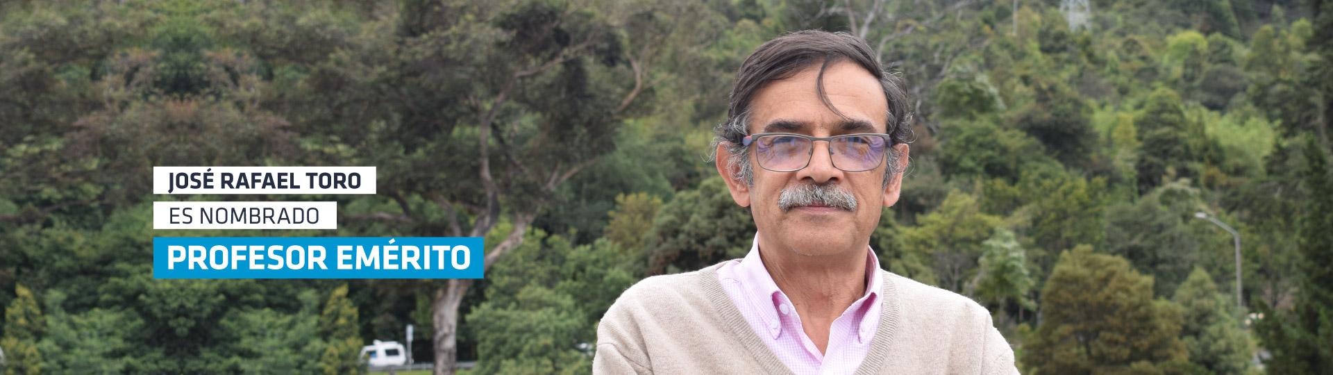 Un nuevo reconocimiento para el profesor José Rafael Toro