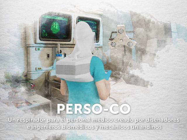 Ingenieros y Diseñadores Uniandinos desarrollan un respirador para personal médico