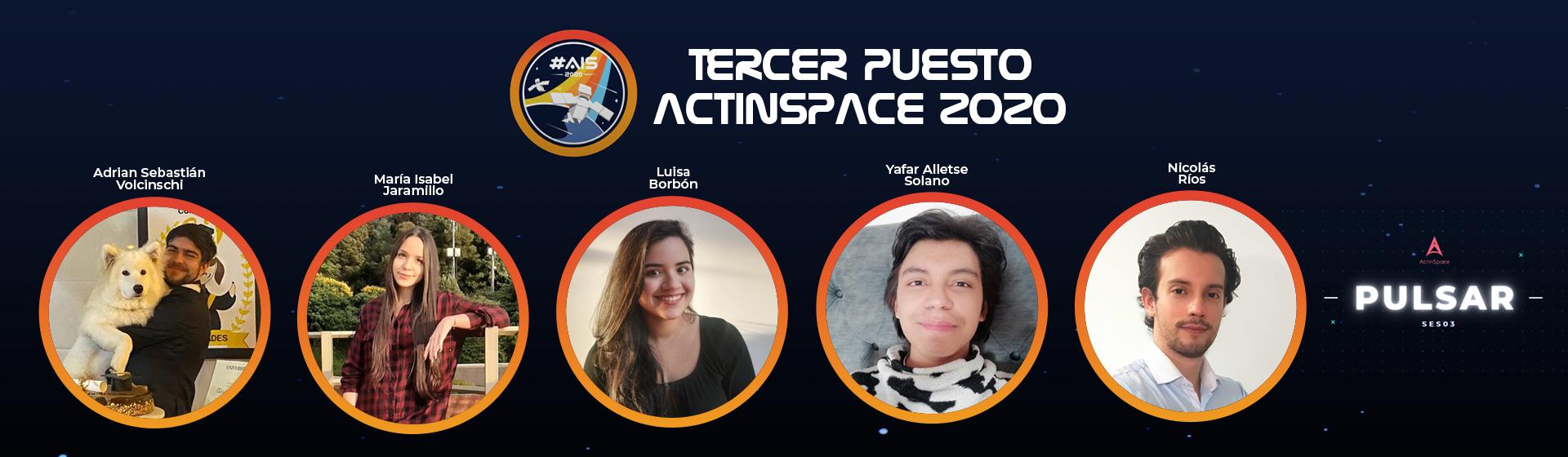 Estudiantes de Ingeniería obtienen el tercer puesto en la competencia ActInSpace