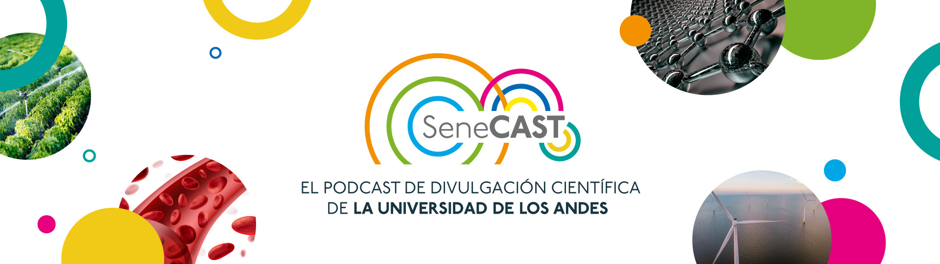 SeneCAST, el nuevo podcast de divulgación científica de la Universidad de los Andes