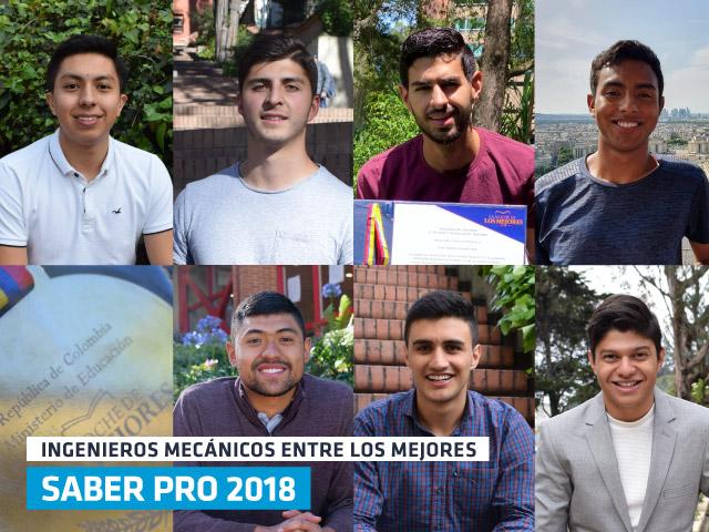 Estudiantes de Ingeniería Mecánica Uniandes descatan en la prueba saber pro 2018