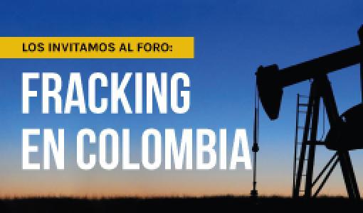 Invitación al Foro: Fracking en Colombia por parte del Departamento de Ingeniería Mecánica