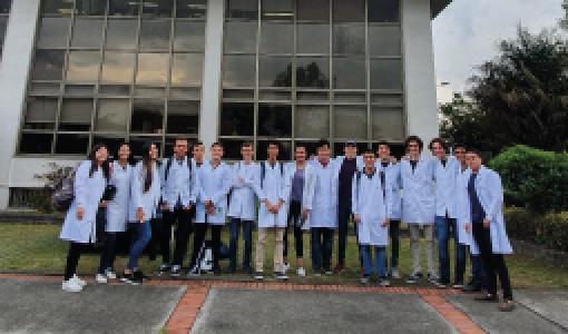 Visitas de estudiantes de la clase de fundamentos de experimentación al Instituto Nacional de Metrología | Uniandes